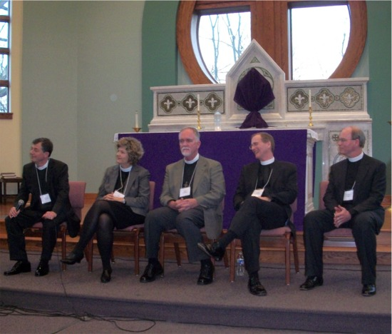 Episcopal candidates at St. Brendan's