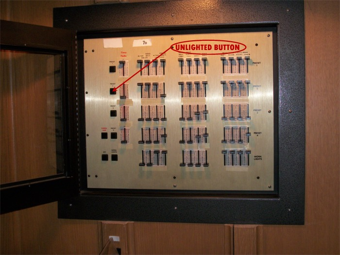 Master lighting panel