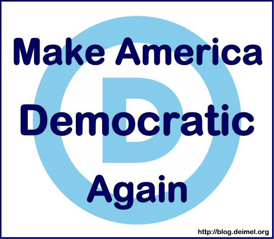Make America Democratic Again