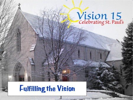 Fulfilling the Vision title slide