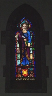 St. Luke window