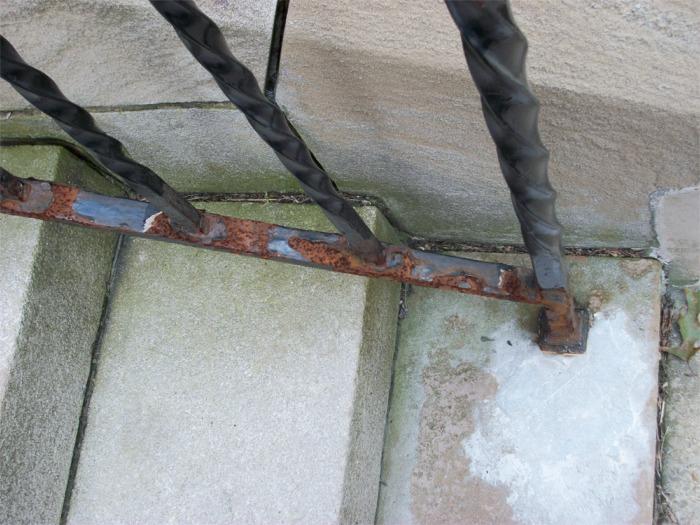 Railing (detail)