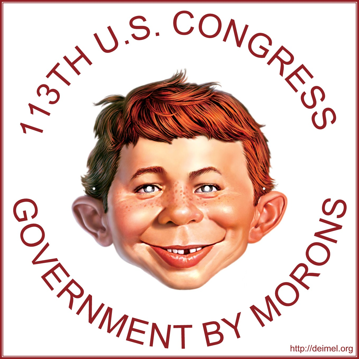 113th U.S. Congress: Government by Morons
