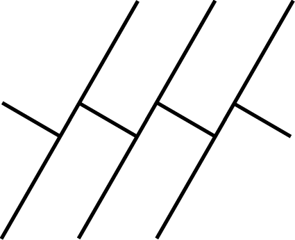 Proposed striping pattern