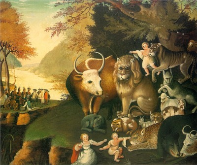 Edward Hicks: Peaceable Kingdom