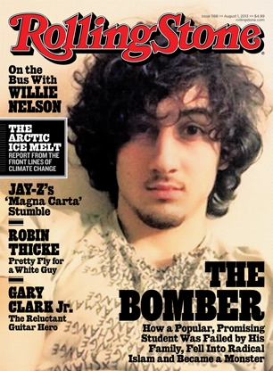 August 1, 2013, Rolling Stone cover