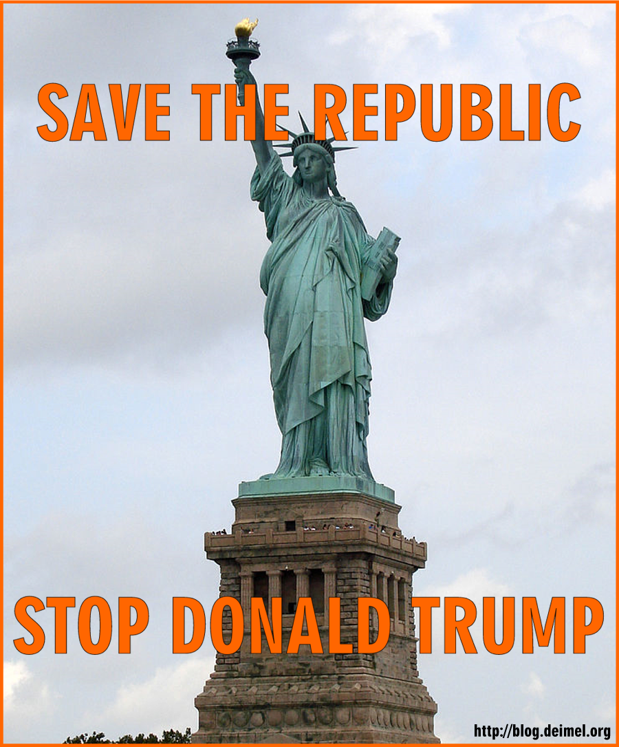 Save the Republic. Stop Donald Trump.