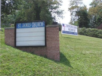 Signs at St. James'