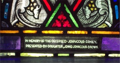 Window dedication