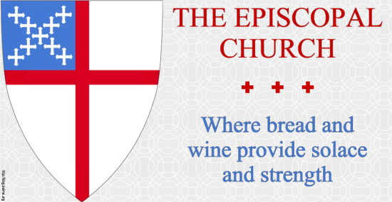 The Episcopal Church: Where bread and wine provide solace and strength