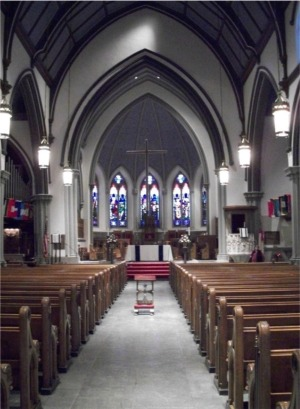 Trinity Cathedral interior