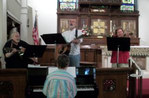 Cursillo musicians
