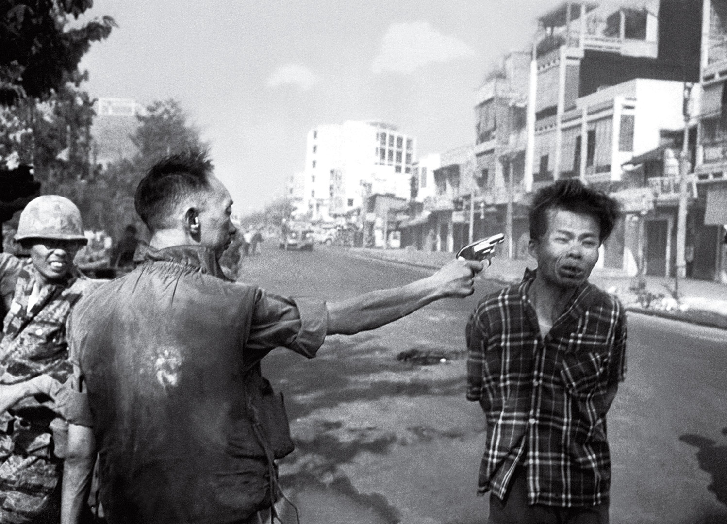 Image result for a searing image from the vietnam war in 1968