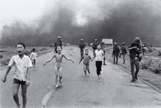 Napalm attack victims
