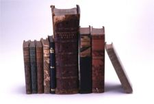 Leather-bound books