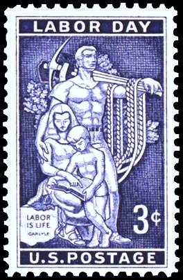 1956 Labor Day stamp
