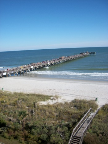 Springmaid Beach Resort fishing pier