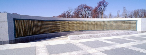 Freedom Wall with Field of Stars